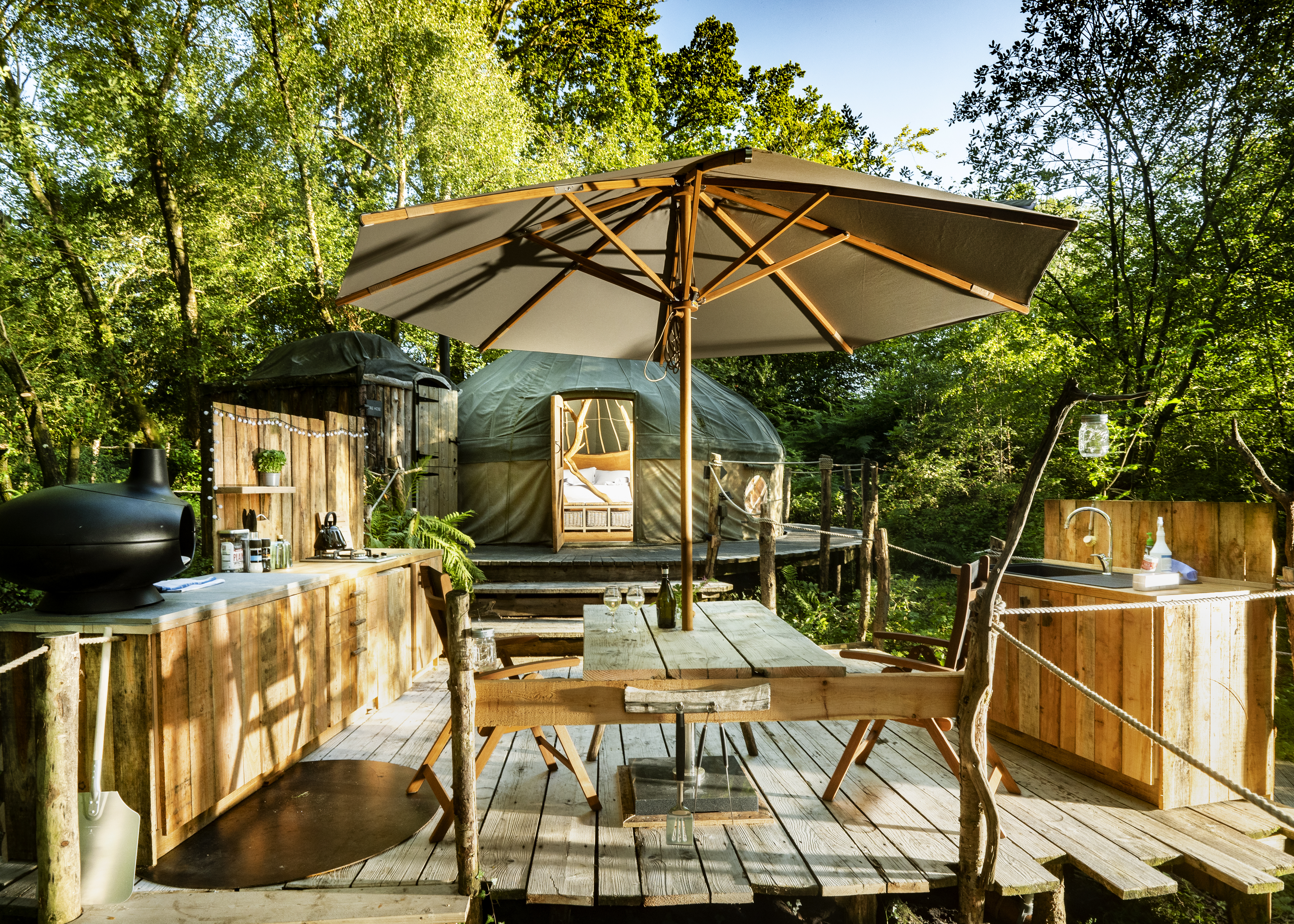 Coracle the Yurt