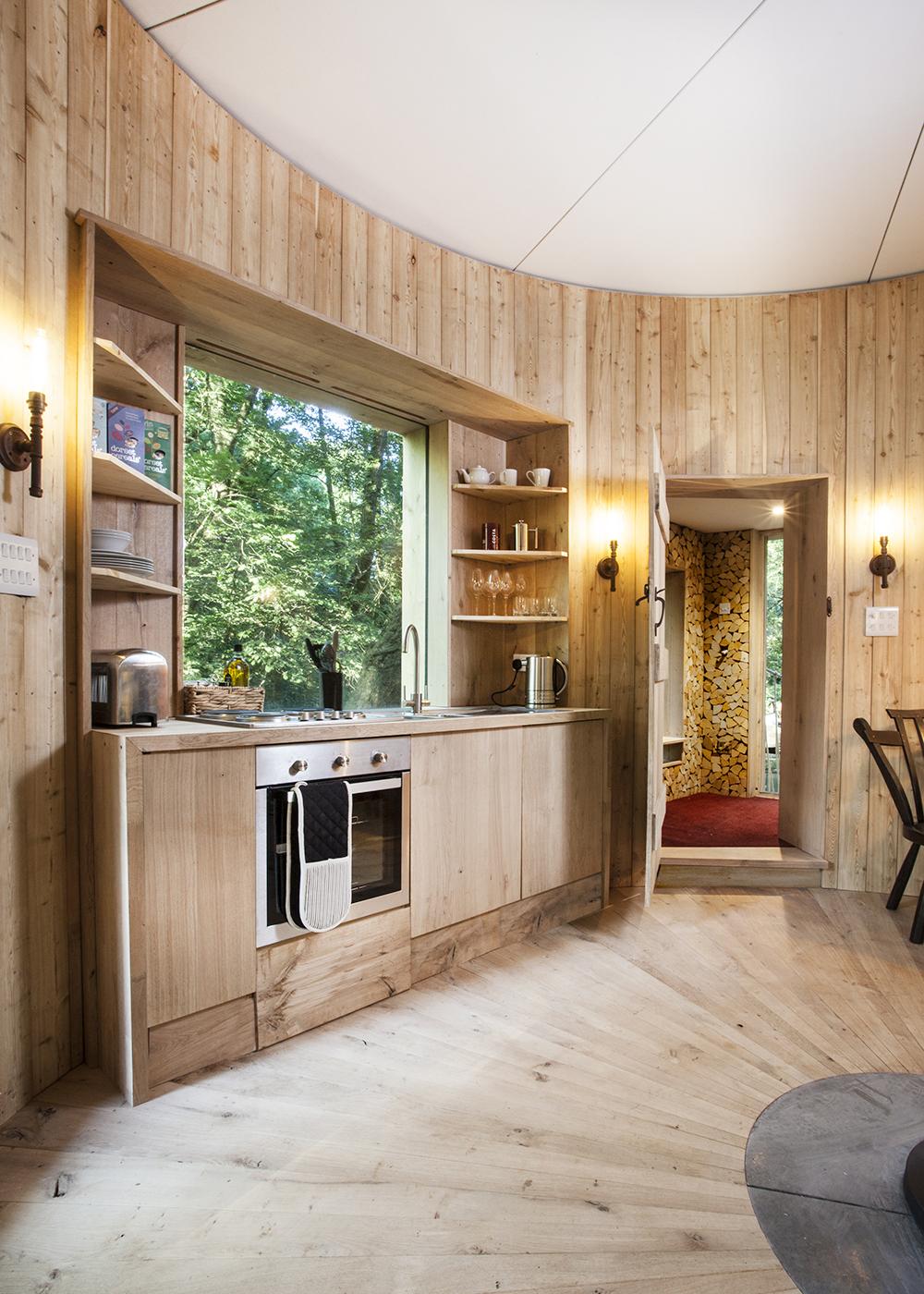 The Woodsman's Treehouse